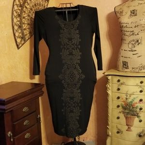 NWOT  SIMPLY BE black dress